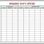 לוח תיכנון חדר בטחון